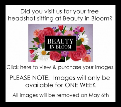 Philadelphia Headshot Lounge at Beauty in Bloom