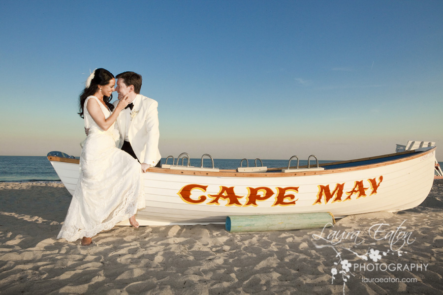 Congress Hall Cape May Wedding Photography of Sarah and Richard