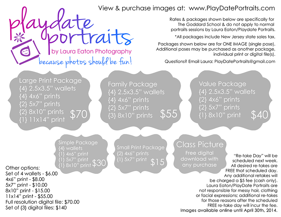 playdate portrait prices pricing 8x10 - 900 pixels wide