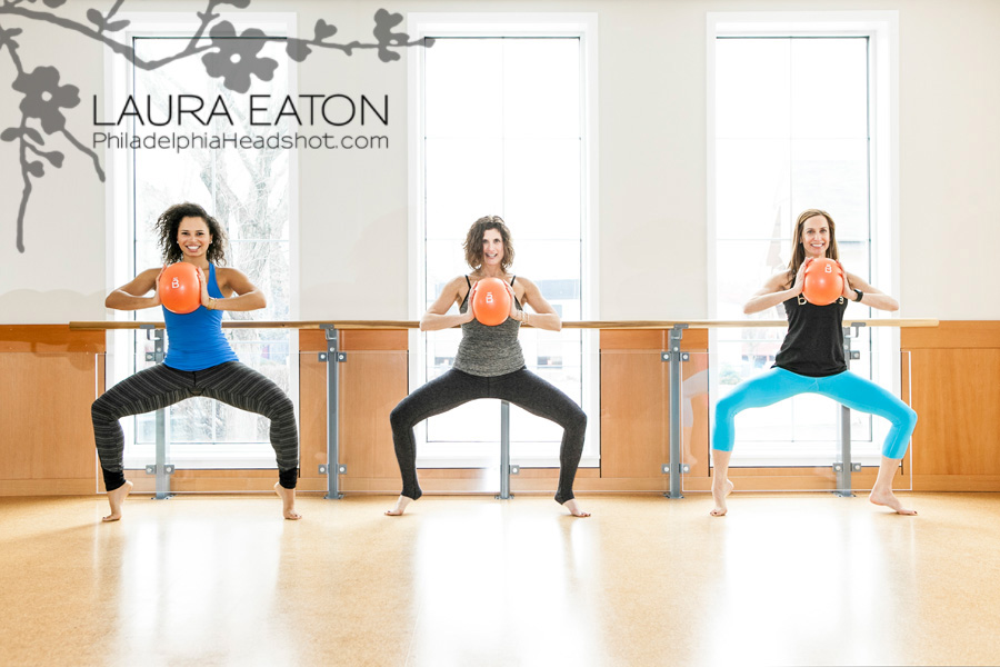 Philadelphia Headshot Photography by Laura Eaton – Barre 3 Rosemont, PA – Branding and Marketing Images for Business