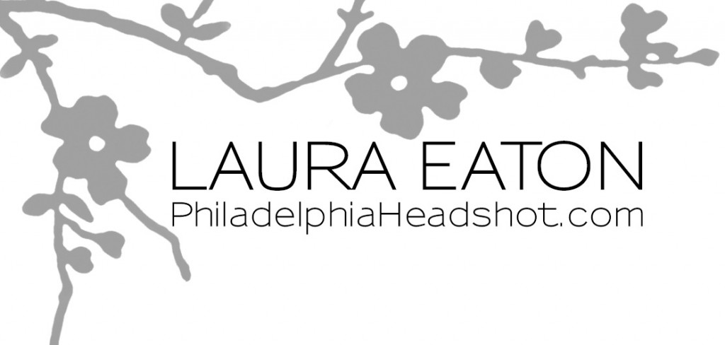 Laura Eaton Logo - headshot photography logo rectangle